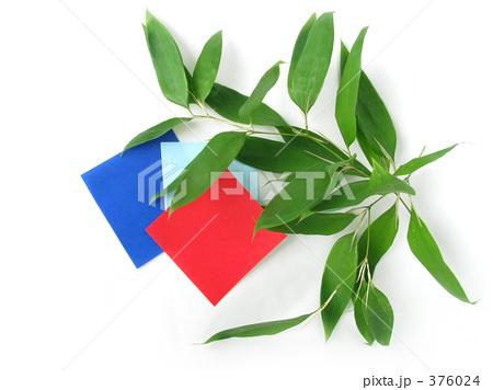 ハート 折り紙:笹の葉 折り紙-pixta.jp