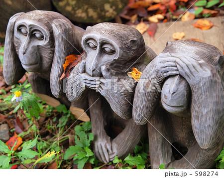 み猿いわ猿きか猿の写真素材 - P...