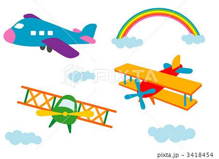 小型ジェット機 ジェット機 乗り物 航空機のイラスト素材 Pixta