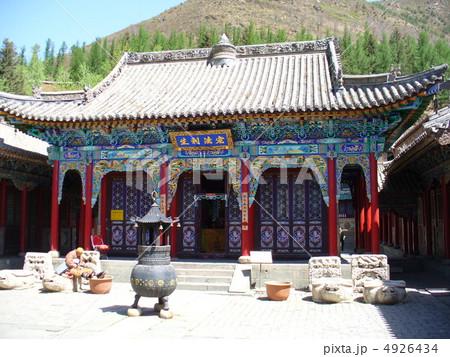 中国 山西省 五台 五台県の写真素材 - PIXTA