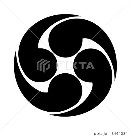 Tomoe Symbol Illustrations Pixta