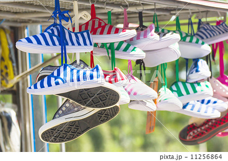 Sneakers shoes multicolored