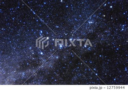 夜空 カシオペア座 星 星空の写...
