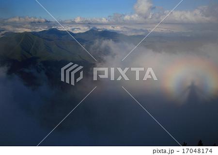 ブロッケン現象の写真素材 - PIX...