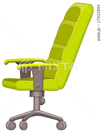 オフィスチェア 事務椅子 事務用椅子 家具のイラスト素材 pixta