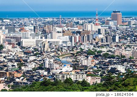 金沢 金沢市 街並み 一望の写真...