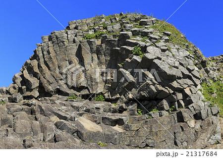 根室車石 車石 奇岩 放射状節理...