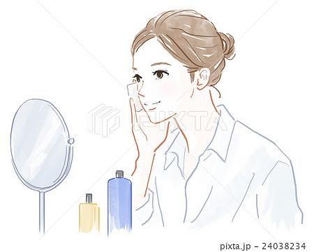 化粧水のイラスト素材 Pixta