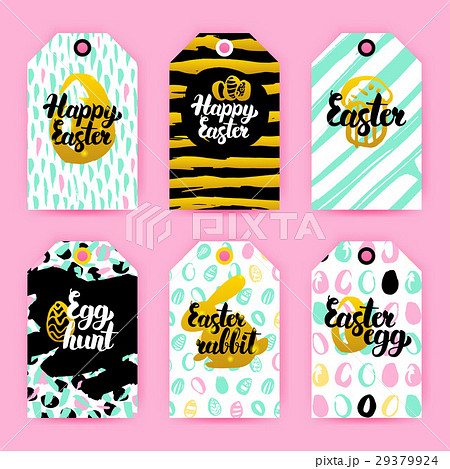 pixta happy easter trendy gift labels negle Images