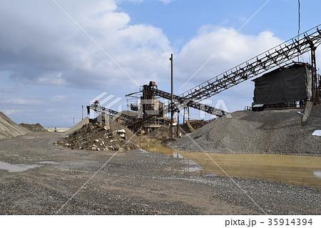 砂利採取場