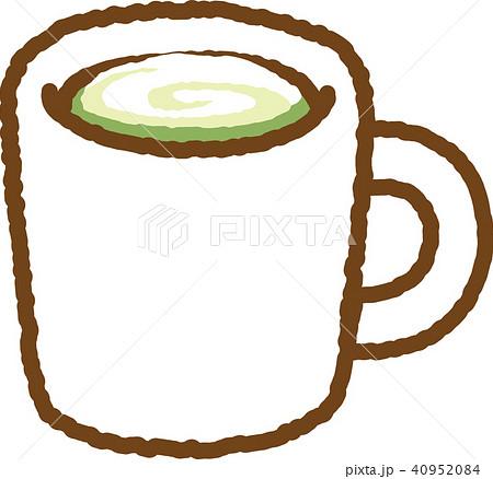 抹茶のイラスト素材 Pixta