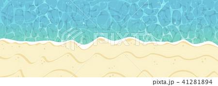 波打ち際のイラスト素材 Pixta