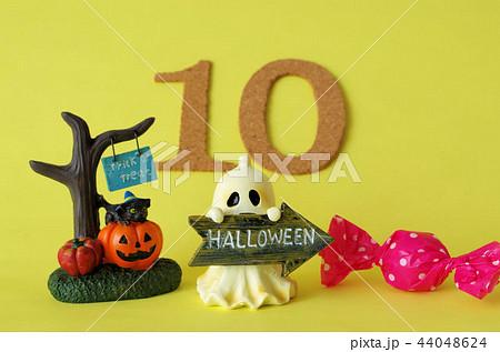 10月 行事 数字 ハロウィンの写真素材 Pixta