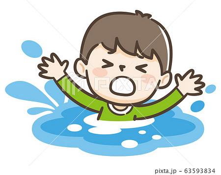 遊泳禁止 溺れる 子供